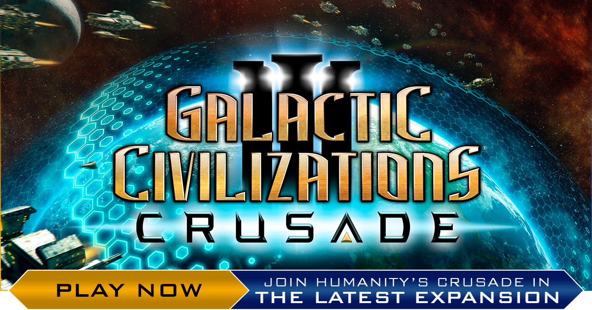 Galactic Civilizations Iii Crusade Is Available Today